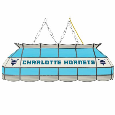 3-Light Pool Table Light NBA Team: Charlotte Hornets