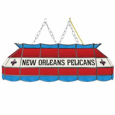 3-Light Pool Table Light NBA Team: New Orleans Pelicans