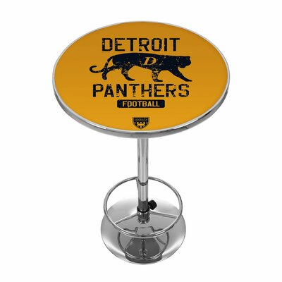 Vault of American Football 42 inch Pub Table NFL Team: Detroit Panthers