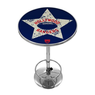 Vault of American Football 42 Pub Table NFL Team: Hollywood Rangers