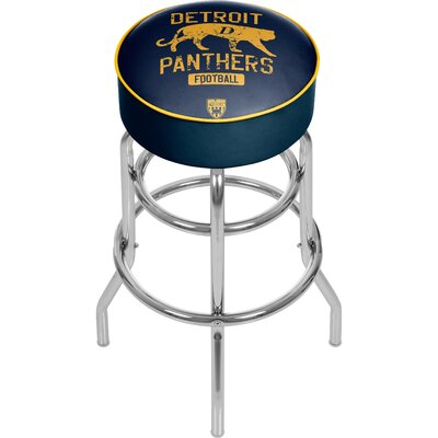 Vault of American Football 31 Swivel Bar Stool NFL Team: Detroit Panthers