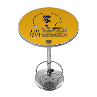 Vault of American Football 42 inch Pub Table NFL Team: Philadelphia Bell