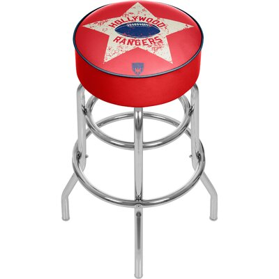Vault of American Football 31 Swivel Bar Stool NFL Team: Hollywood Rangers