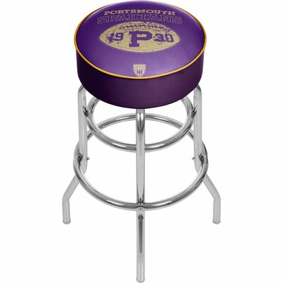 Vault of American Football 31 Swivel Bar Stool NFL Team: Portsmouth Spartans