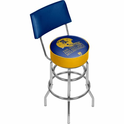Vault of American Football 31 Swivel Bar Stool NFL Team: Philadelphia Bell