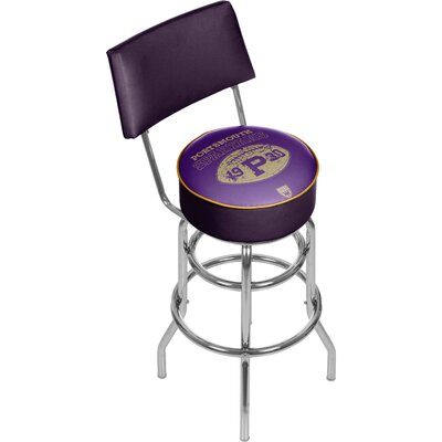 Vault of American Football 31 inch Swivel Bar Stool NFL Team: Portsmouth Spartans