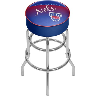 NBA 31 Swivel Bar Stool NBA Team: New Jersey Nets