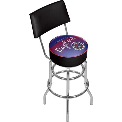 NBA 31 Swivel Bar Stool NBA Team: Toronto Raptors