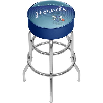 NBA 31 Swivel Bar Stool NBA Team: Charlotte Hornets
