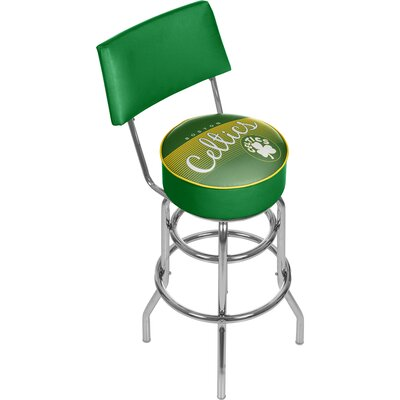 NBA 31 Swivel Bar Stool NBA Team: Boston Celtics