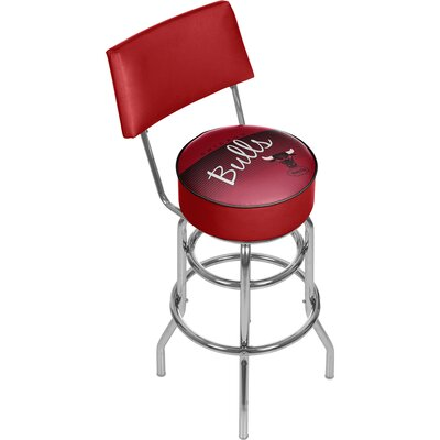 NBA 31 Swivel Bar Stool NBA Team: Chicago Bulls