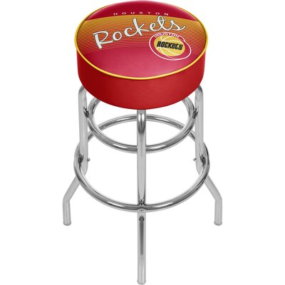 NBA 31 Swivel Bar Stool NBA Team: Houston Rockets