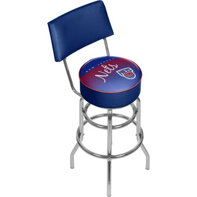 NBA 31 Swivel Bar Stool NBA Team: New Jersey Nets