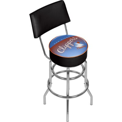 NBA 31 Swivel Bar Stool NBA Team: San Diego Clippers