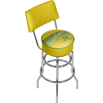 NBA 31 Swivel Bar Stool NBA Team: Seattle Super Sonics