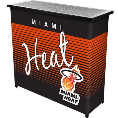 Hardwood Classics Home Bar Team: Miami Heat