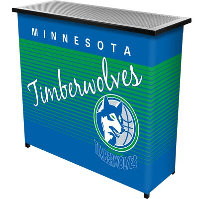 Hardwood Classics Home Bar Team: Minnesota Timberwolves