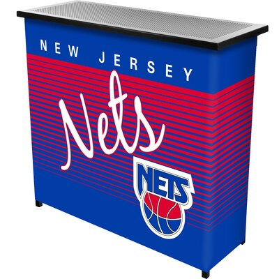 Hardwood Classics Home Bar Team: New Jersey Nets
