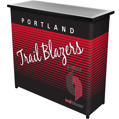 Hardwood Classics Home Bar Team: Portland Trail Blazers