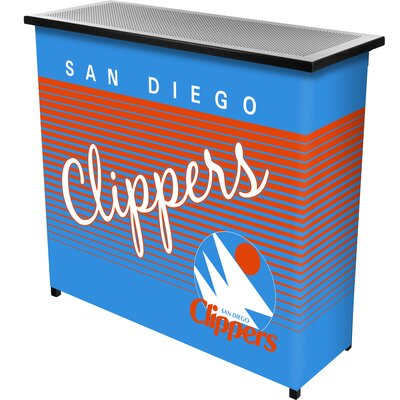 Hardwood Classics Home Bar Team: San Diego Clippers