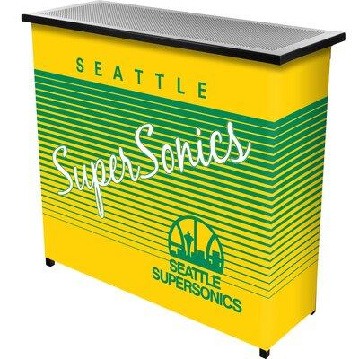Hardwood Classics Home Bar Team: Seattle Super Sonics