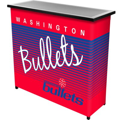 Hardwood Classics Home Bar Team: Washington Bullets