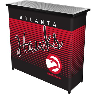 Hardwood Classics Home Bar Team: Atlanta Hawks