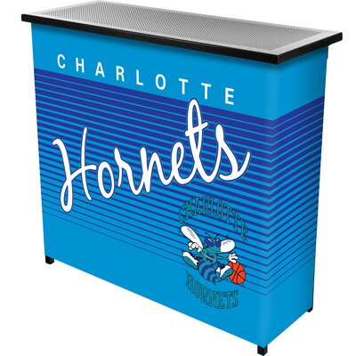 Hardwood Classics Home Bar Team: Charlotte Hornets