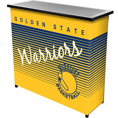 Hardwood Classics Home Bar Team: Golden State Warriors