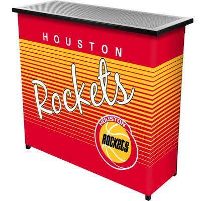 Hardwood Classics Home Bar Team: Houston Rockets