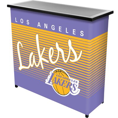 Hardwood Classics Home Bar Team: Los Angeles Lakers