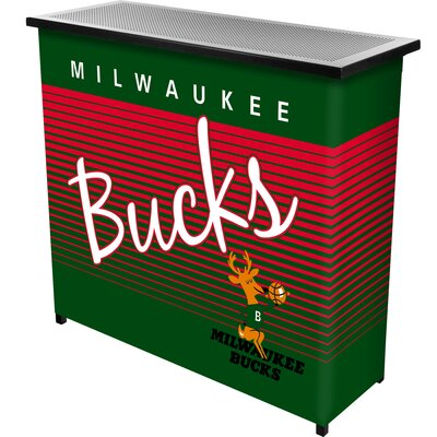 Hardwood Classics Home Bar Team: Milwaukee Bucks