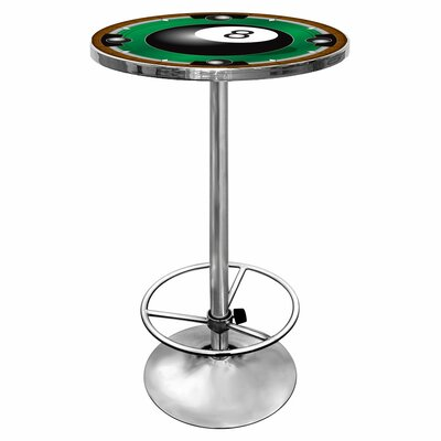8-Ball Pub Table with Foot Rest