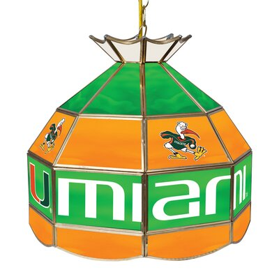 University of Miami 1-Light Pendant