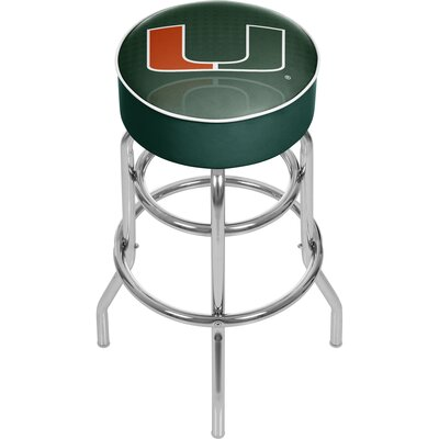 31 Swivel Bar Stool NCAA Team: University of Miami