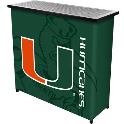 Portable Bar NCAA Team: University of Miami