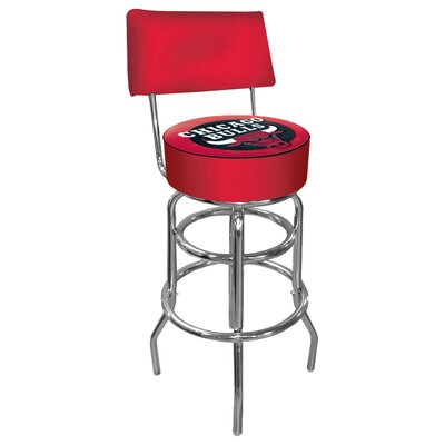 31 Swivel Bar Stool NBA Team: Chicago Bulls