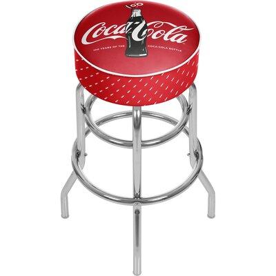 Coca Cola 31 inch Swivel Bar Stool