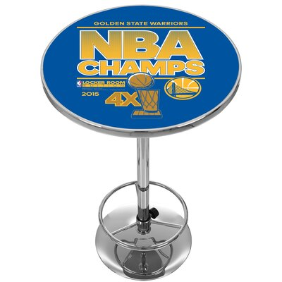 NBA Golden State Warriors 2015 Champions Pub Table