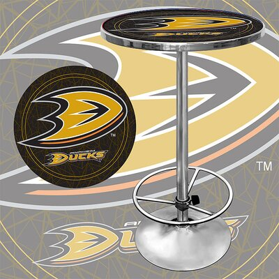 In store financing NHL Pub Table NHL Team: Anaheim Duc...