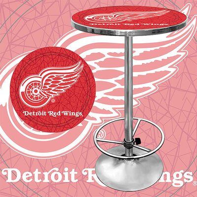 Rent to own NHL Pub Table NHL Team: Detroit Red...