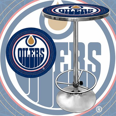 Rent NHL Pub Table NHL Team: Edmonton Oi...