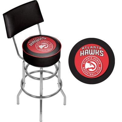 31 inch Swivel Bar Stool NBA Team: Atlanta Hawks