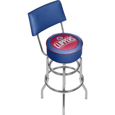 31 Swivel Bar Stool NBA Team: Los Angeles Clippers
