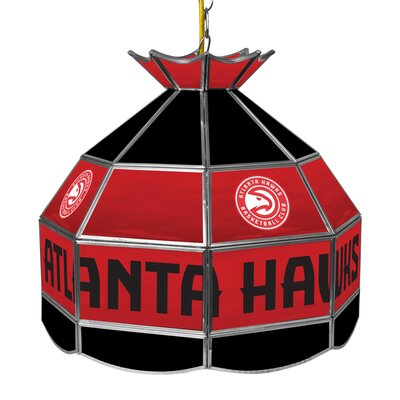 1-Light Tiffany Vanity Light NBA Team: Atlanta Hawks