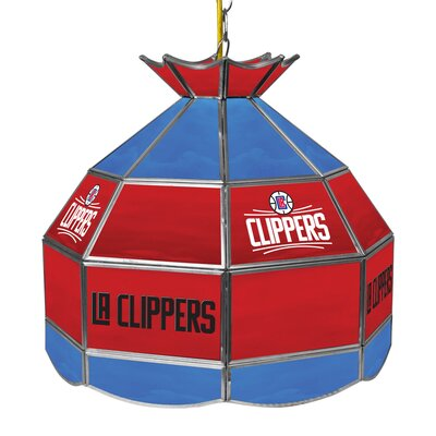 1-Light Tiffany Vanity Light NBA Team: Los Angeles Clippers