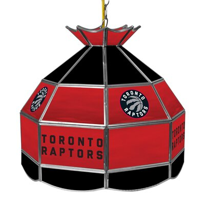 1-Light Tiffany Vanity Light NBA Team: Toronto Raptors