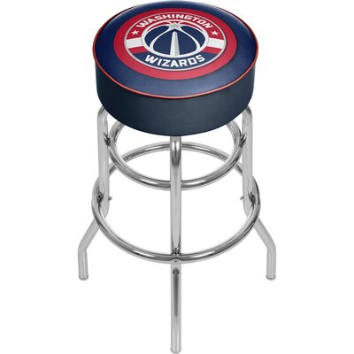 31 inch Swivel Bar Stool NBA Team: Washington Wizards