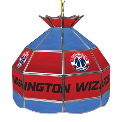 1-Light Tiffany Vanity Light NBA Team: Washington Wizards