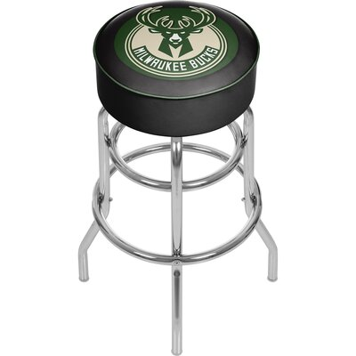 31 Swivel Bar Stool NBA Team: Milwaukee Bucks